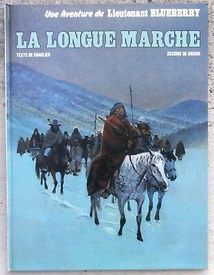 Blueberry La Longue marche EO 1980 Neuf Giraud Charlier