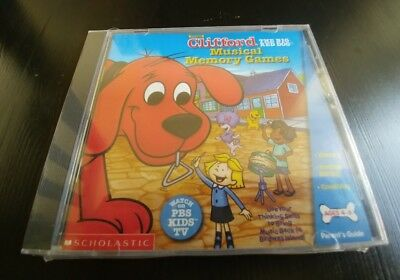 Clifford Musical Memory Game (Brand New PC/MAC