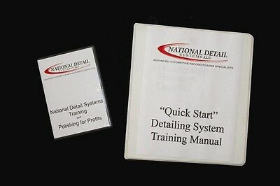 Detailing Book & DVD From The Innovators In Detailing! National Detail Systems