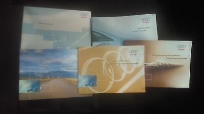 Audi A6 Owners Manual, MMI, Warranty, Quick Reference Guide, Maintenance,  2002