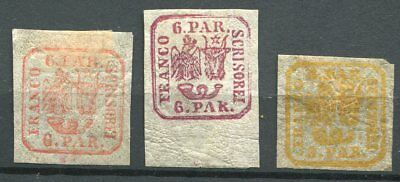 Romania  -   Selection classics, 3 x MH,