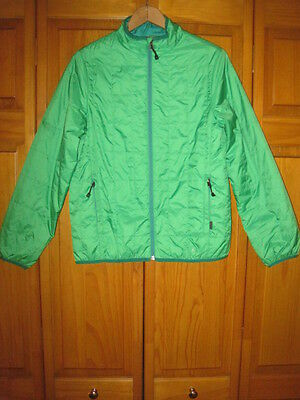 REI Revelcloud Primaloft insulated jacket kids boys L 14/16 green spring hiking