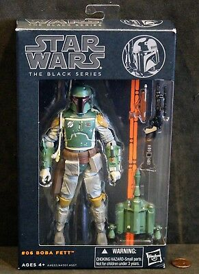 Star Wars Black Series #06 BOBA FETT Figure, In Original Box!