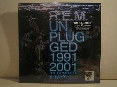 R.E.M. Unplugged 1991 2001 Complete Sessions 4LP RSD Record Store Day 2014 REM