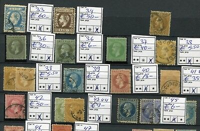 Romania  -   Collection classics, MH/cancelled