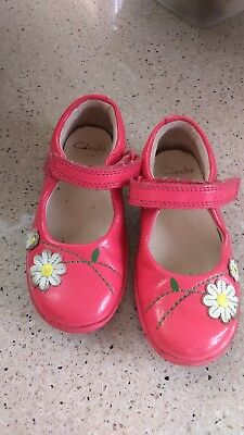 Girls Shoes Clarks 7F