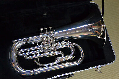 Used YAMAHA YEP-202MS Marching Euphonium Silver-plated