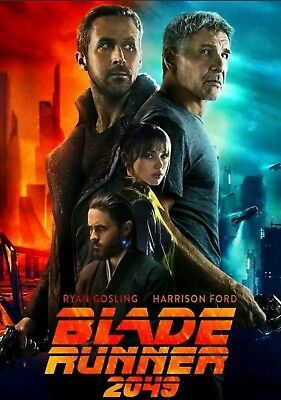 Bladerunner 2049 Official Poster, Odeon Limited Edition, Collectors A3, NEW
