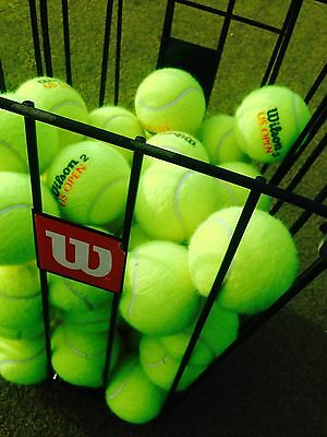 100 Quality Used Tennis Balls (month old Balls) IDEAL FOR DOG WALKERS