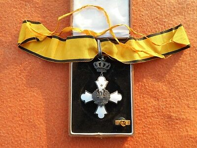 Greece Greek Order Of Phoenix Commander Silver Ordine Della Fenice Commenda Ww2