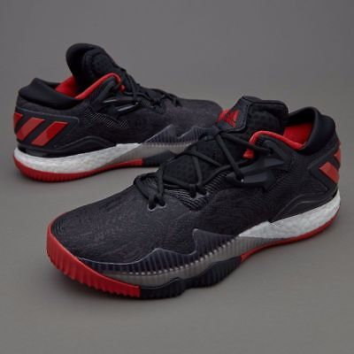 ADIDAS MEN'S CRAZYLIGHT BOOST LOW 2016 BASKETBALL SHOES-NEW IN BOX!-Size:9.5 USA