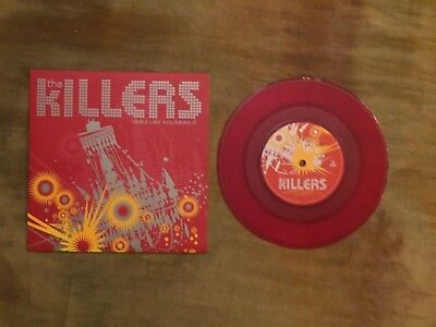 "The Killers - Smile Like You Mean It - Uk - 7"" Ltd Red Vinyl"