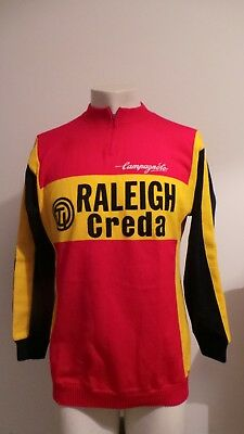 Maillot Cycliste Sweat Raleigh Creda Ancien