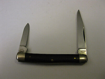 Vintage Browning U.S.A. 2 Blade Pocket Knife With Wood Handles Made In USA