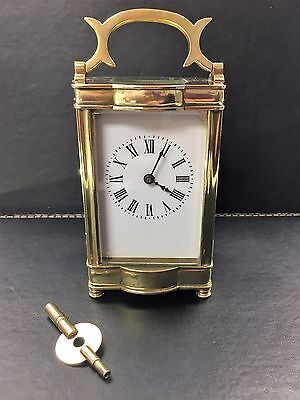 Antique 1880 French Brass Carriage Clock