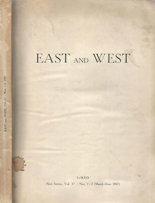 East and West  Vol. 17. . 1967. .
