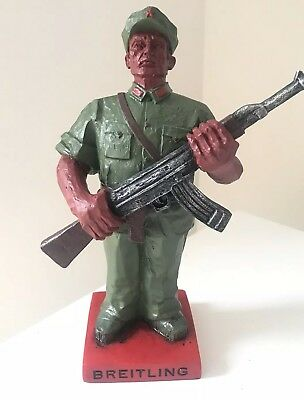 BREITLING - Rare Figurine - Statue - Collectible - Navitimer - Military