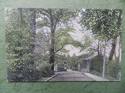 Old Postcard - Hawthorn Lane , Wilmslow , Cheshire