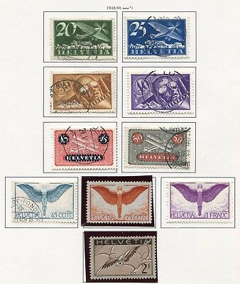 SWITZERLAND - Small collection MH/Cancelled