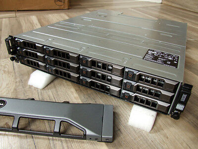 DELL PowerVault MD1200 SAS / SATA storage incl. bezel and rails kit