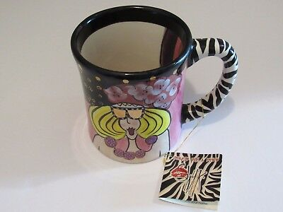 Sealed With A Kiss Hand Painted by Lynda Corneile Gertie Collectible Mug SIGNED