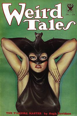 WEIRD TALES vintage pulp magazine 215 issues + more (on 32gb usb stick, not dvd)