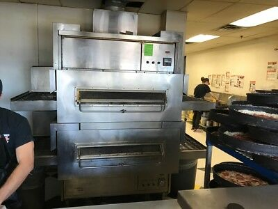 Middleby Marshall PS360 Gas Conveyor Pizza Oven DOUBLE STACK