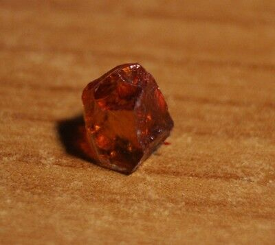 3.4ct Madeira Citrine Crystal - Flawless Lapidary / Specimen Rough
