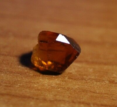 3.66ct Madeira Citrine Crystal Point - Flawless Lapidary / Specimen Rough
