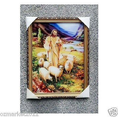 Catholic Church Portrait Jesus Cross Christian Blessed Creative Frame Decoration