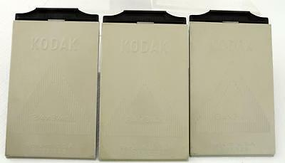 Lot Of 3 Kodak Sheet Film Hoders 2 ¼ X3 ¼ Inch.
