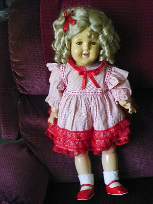 """26"""" Composition """"SHIRLEY TEMPLE"""" - RARE  BIG DOLL"""