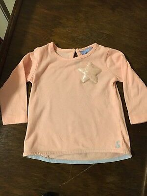 Joules Long Sleeved Star Top 3 - 6 Months
