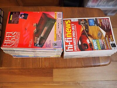 Hi Fi News & Record Review Magazine Collection 48 issues between 1988 - 2009