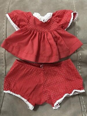 My Child Doll Red with White Polka Dots Dress and Panties