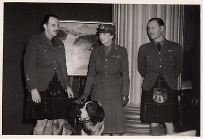 George V's d, Princess Mary, Hon Colonel-in-Chief Royal Canadian Scottish Reg't