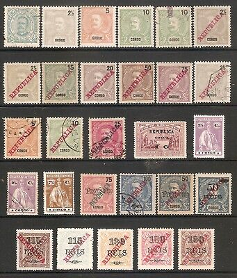 001414 Portuguese Congo Selection Mint + Used (28 stamps)