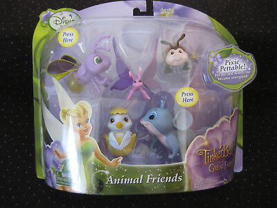 Disney Fairies Tinkerbell Animal Friends NEW IN PACKAGE