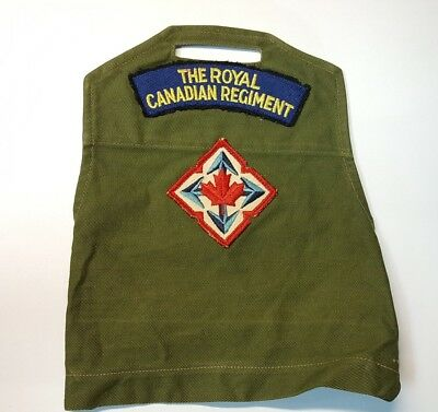 Royal Canadian Regiment Brassard Armlet with Mobile Force Command patch