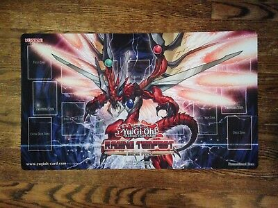 YuGiOh Raging Tempest Sneak Peek Playmat