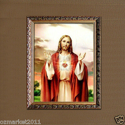 Catholic Church Portrait Jesus Christian Blessed Honorable Simple Decoration