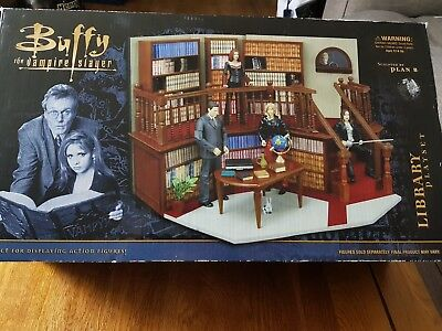 Buffy the vampire slayer Library playset new in box
