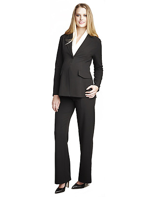 NWT Maternal America Career Maternity Blazer Suit Jacket Work MEDIUM  sz 8 *78