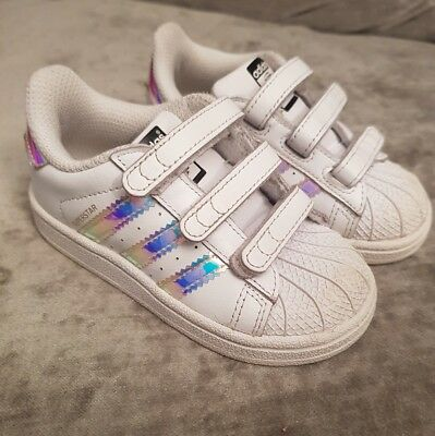 girls adidas superstar trainers infant 6