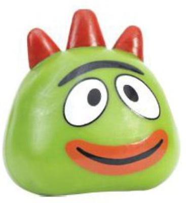 Basic Fun - Yo Gabba Gabba Squishy Pal - BROBEE 3 inch