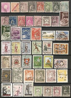 001424 Mozambique Selection (47 stamps)