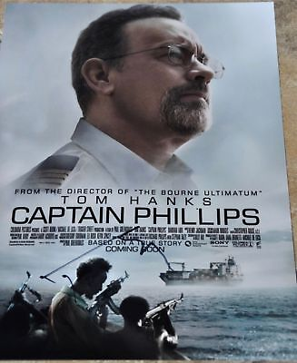 "Tom Hanks Signed 12"" x 8"" Colour Photo Captain Phillips Scully Toy Story Woody"