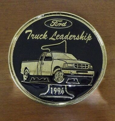 """Ford 1996 Medallion - Truck Leadership No. 1 - Approx. 4"""" Sales Recognition"""