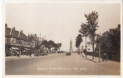 RP Lumley Road, Skegness.by C.& A.G.Lewis.Motor cars/Pram.