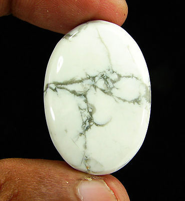 62.30 Ct Natural Howlite Loose Gemstone Cabochon Beautiful Stone - 11860